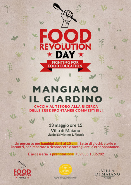 Food Revolution Day a Fiesole